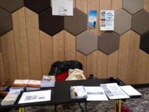 SIMRA and Euromontana stand during the Bled Conference.