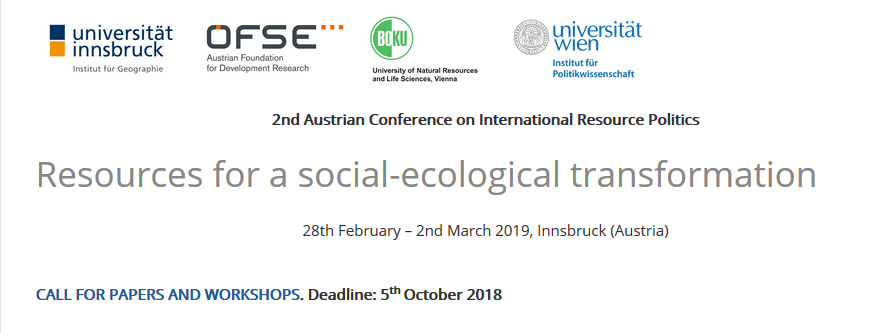 resources for a social-ecological transformation