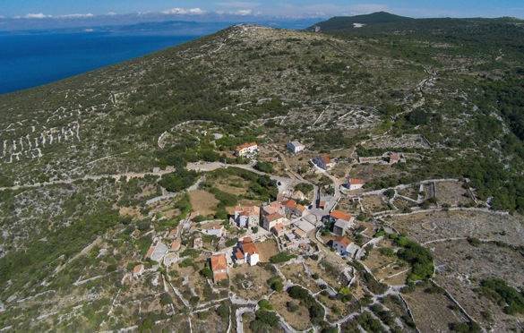 Vidovici settlement. Cres Island,  Croatia: Thanks to identity,  leadership Vidovici has survived in co-evolving old traditions with all pleasant benefits of modern life  creating  well being to new  community.